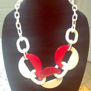 Modern Art Deco reversible necklace